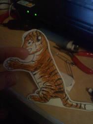 Paperchild-Tiger