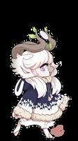1422 - Mythical BB -Tteok Moon Rabbit by Plush-Bean