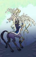 centaurs kayla and angus by wulfmune