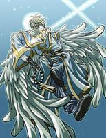 archangel michael by wulfmune