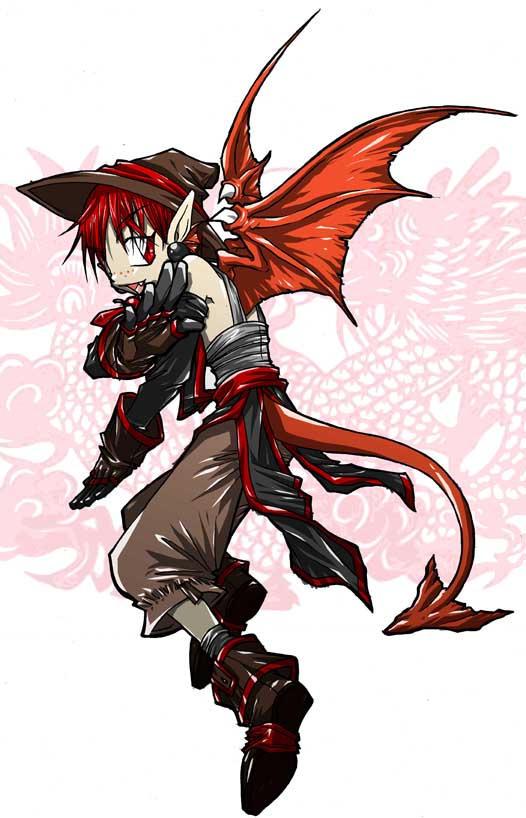 Dragonboy johnas by wulfmune on deviantart - Anime boy dragon ...