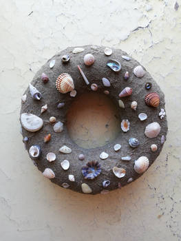 Beach-ey wreath...