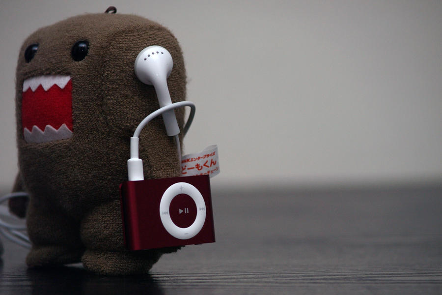 domo ipod by flowersandfire