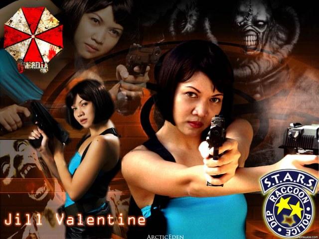 Jill Valentine: Resident Evil by beneathstarryskies