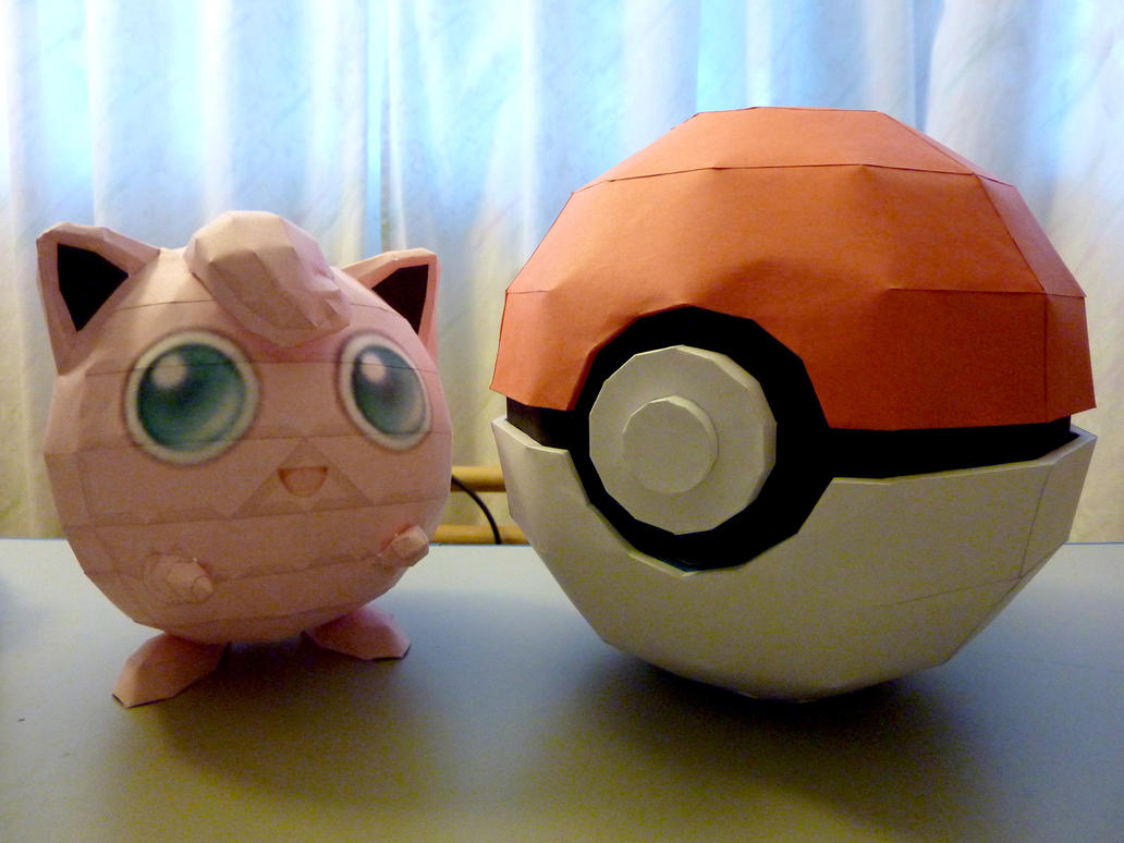 Jigglypuff + Pokeball Box by dustofstarz on DeviantArt - photo#2