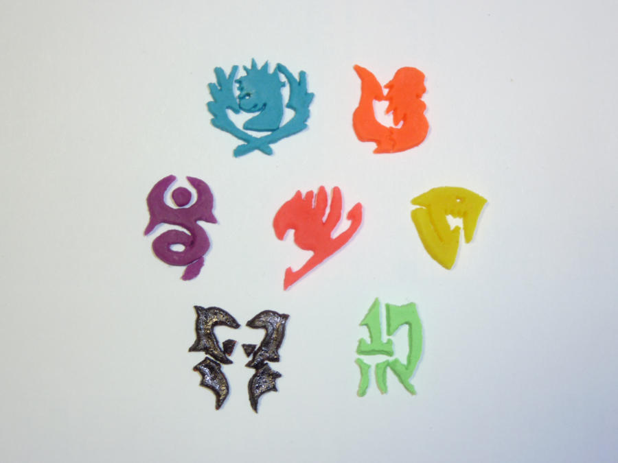 Fairy Tail Guild Symbols By Dustofstarz On Deviantart