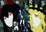 Black Rock Shooter Anime Sketch