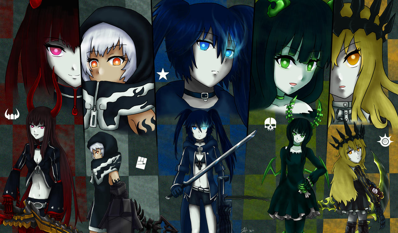 Black Rock Shooter 2012 by Athyra