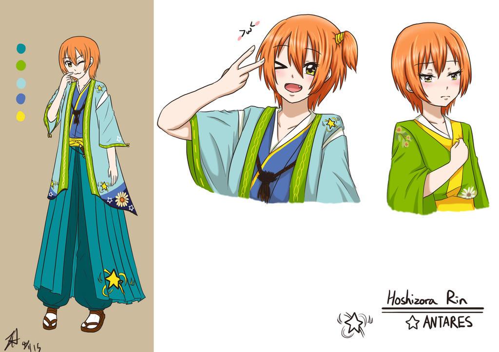LL Kaguya - Hoshizora Rin by Athyra