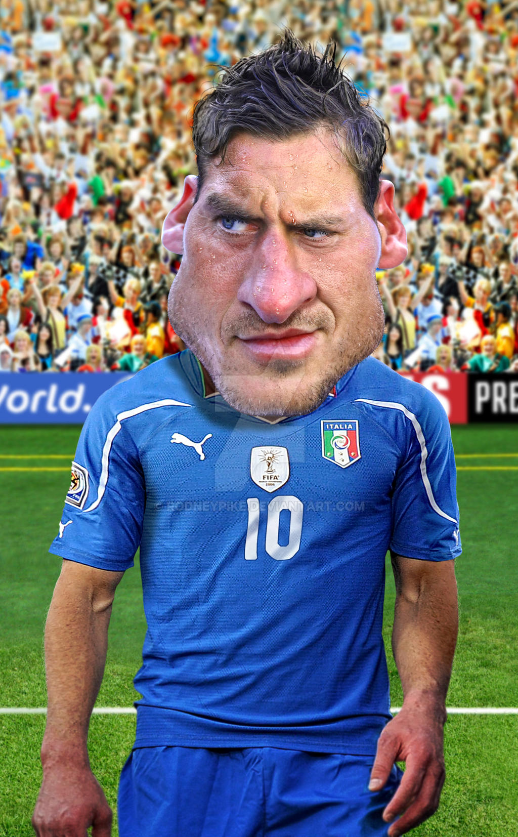 Francesco Totti by RodneyPike on DeviantArt