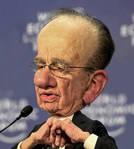 Rupert Murdoch - A Caricature