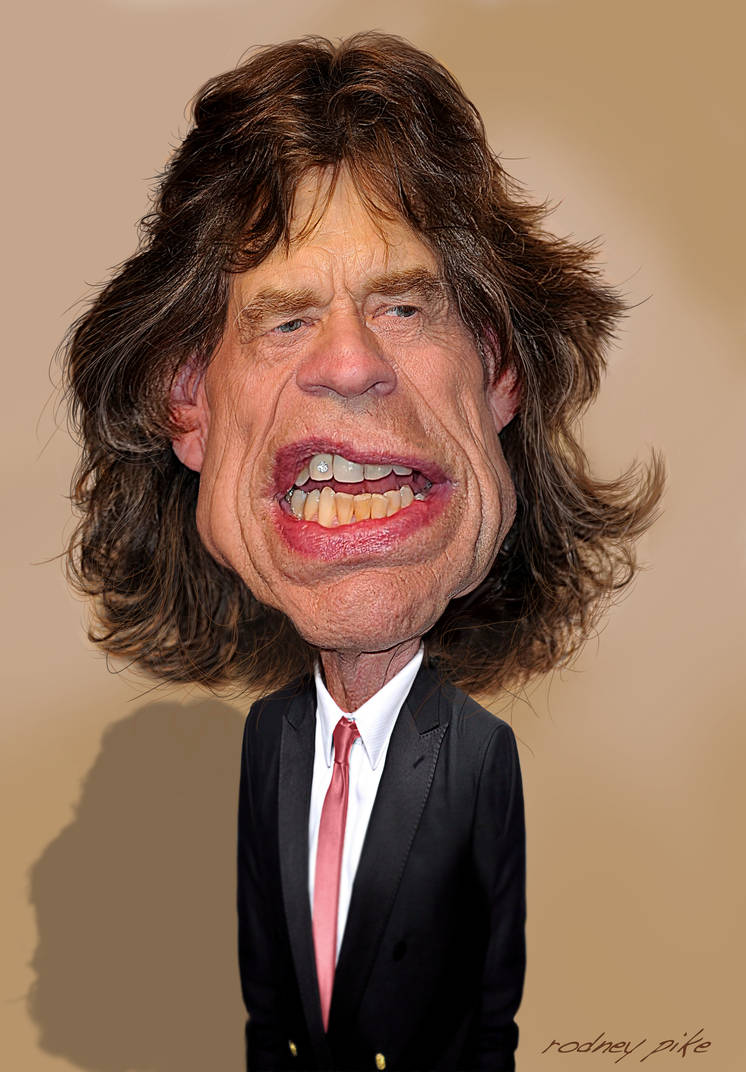 Mick Jagger of The Rolling Stones - 2013