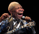 BB King and Lucille - Caricature Study by RodneyPike