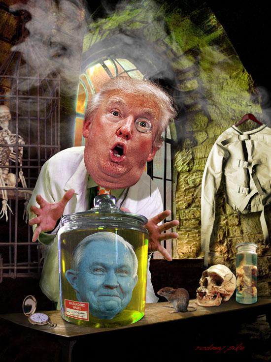 Dr Trumpenstein by RodneyPike