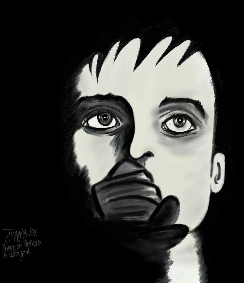 Ian Curtis joy division by juggsy