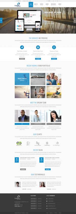 Wordpress Design for Instant IT Solution