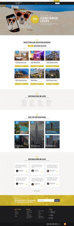 Hotel Booking Design