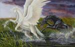 Pegasus and Kelpie