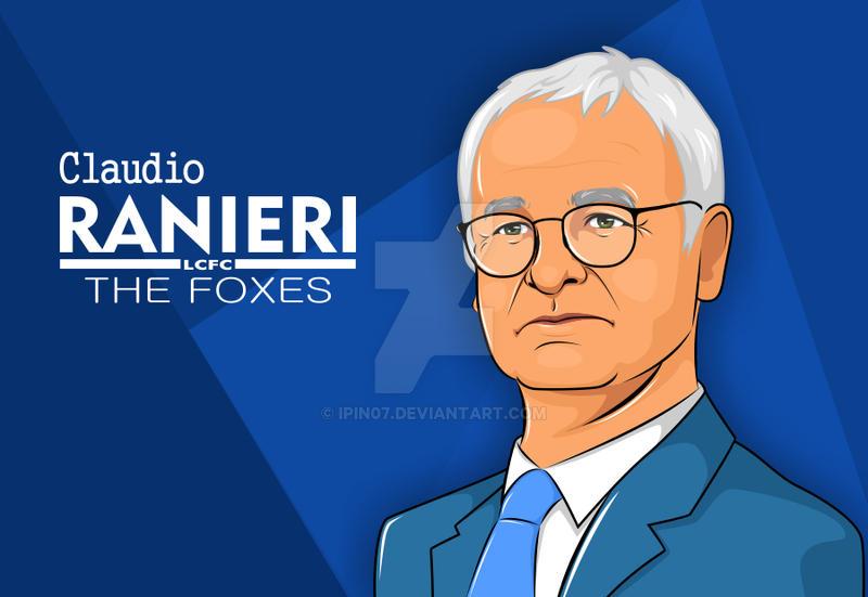 Claudio Ranieri by ipin07