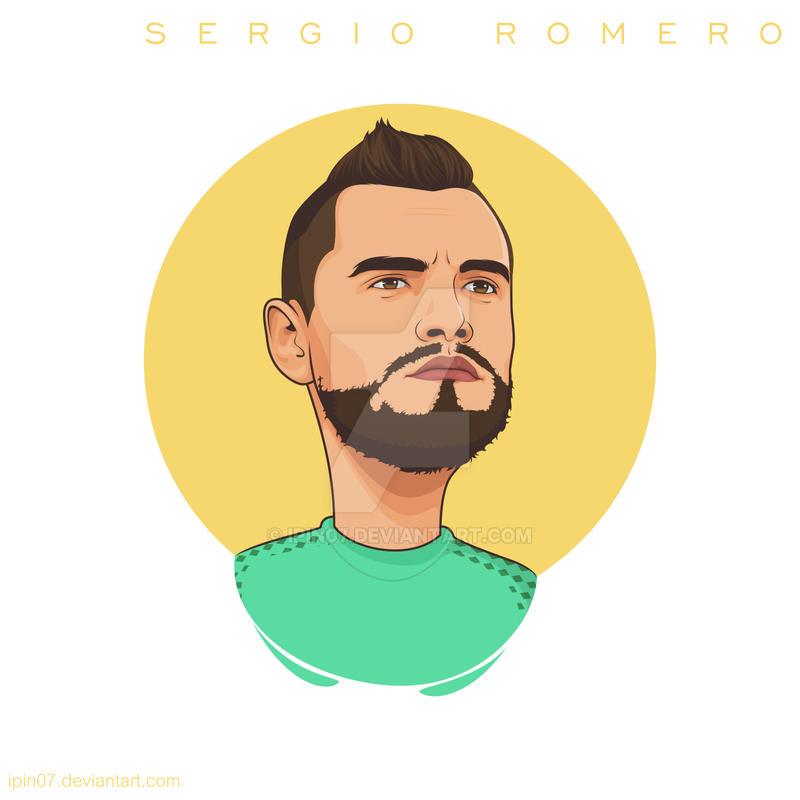 Sergio Romero [MUFC] by ipin07