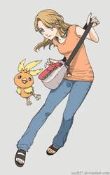 Pokemon Trainer Frosty by osy057