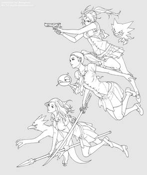 Girls, Weapons, and Pokemon