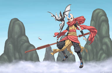 Aang Redesigned by osy057