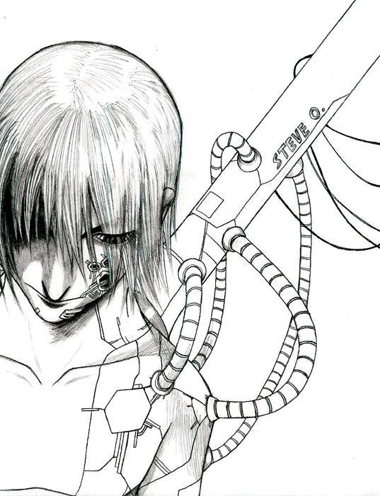 Cyborg by osy057