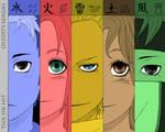 osy057 Ninja Characters