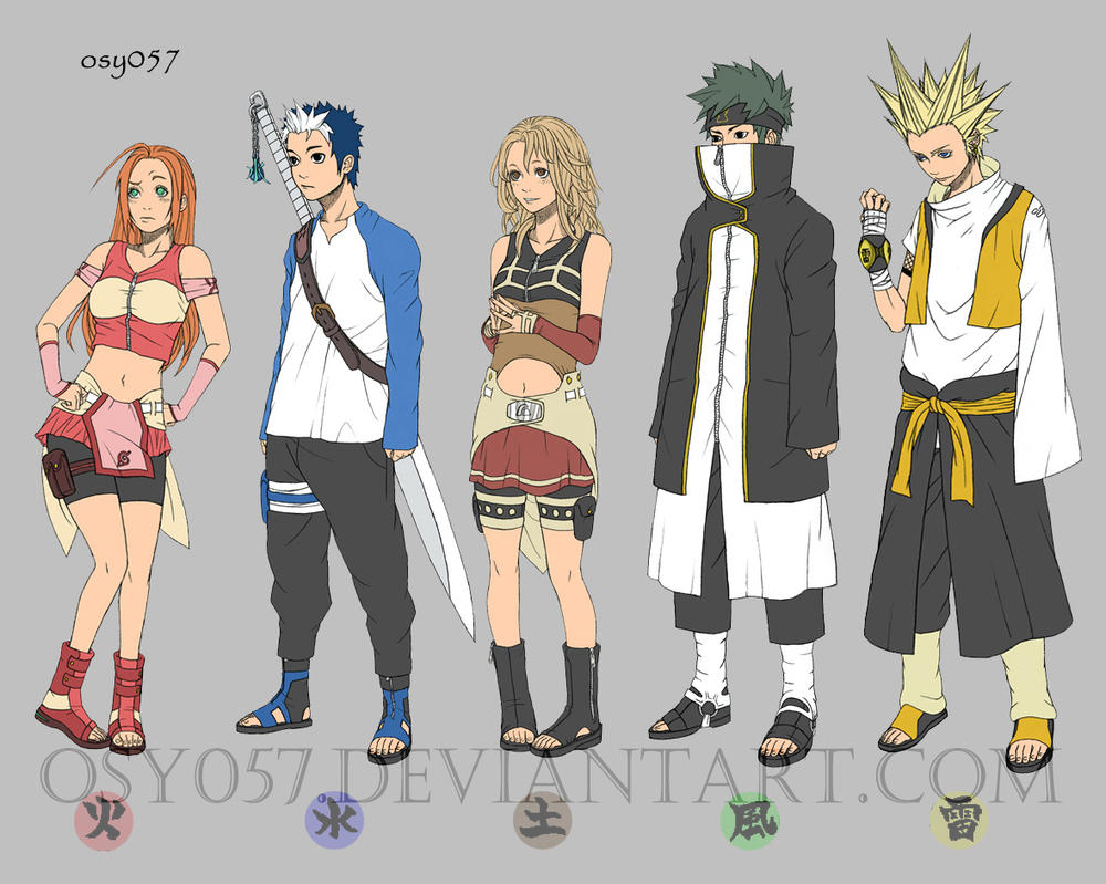 Osy057u0026#39;s Ninja Group by osy057 on DeviantArt