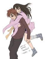 Gaara and Rukia by osy057