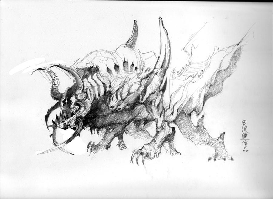 creature design by henryz