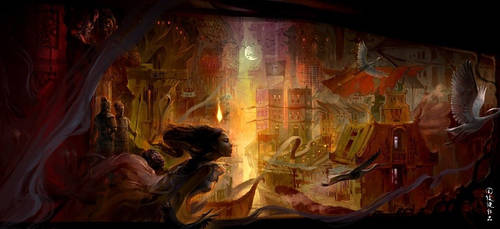 oriental myth by henryz