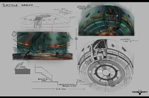 battle arena design by henryz