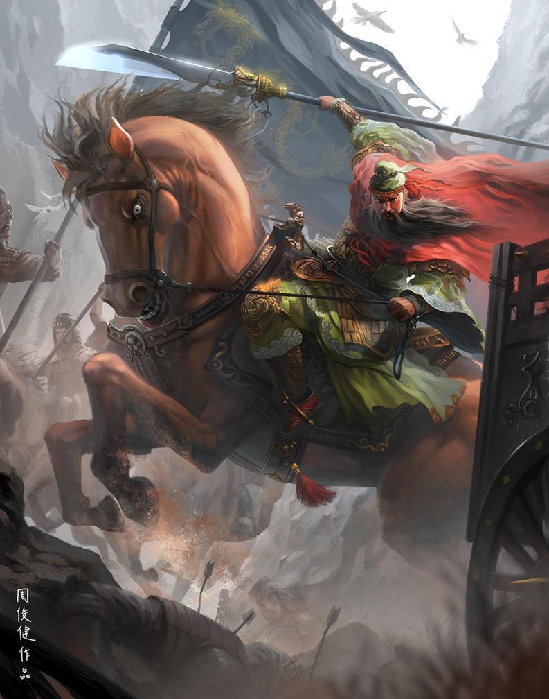 guan yu by henryz