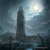 shatter tower by henryz