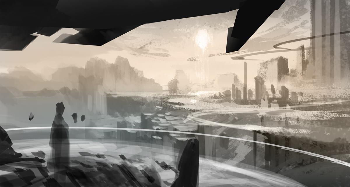 environment sketch by henryz