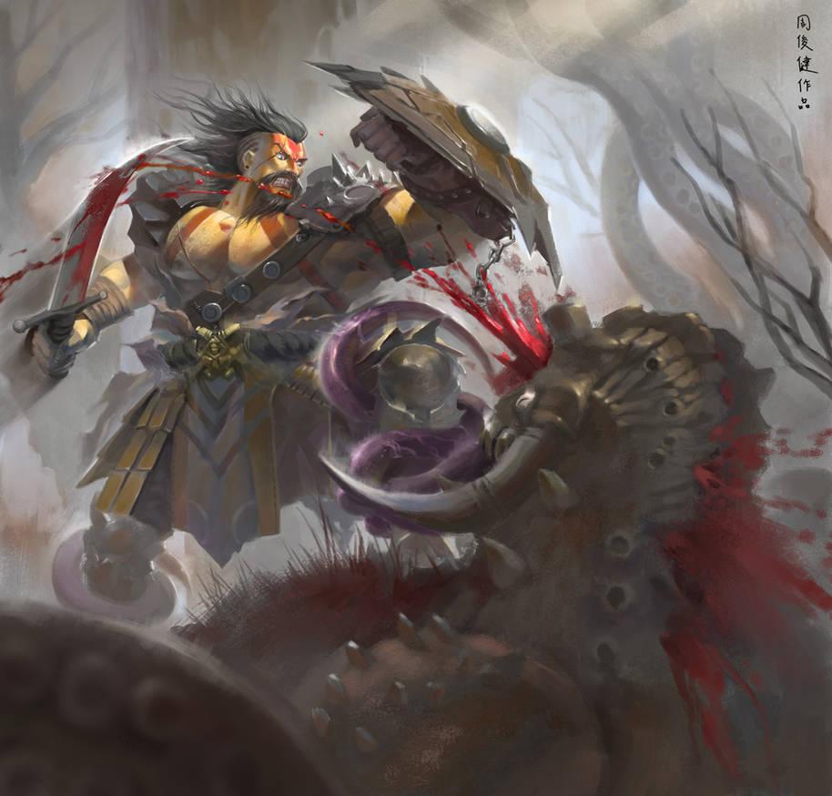 barbarian by henryz