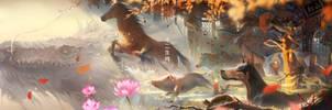 oriental myth II (zodiac)