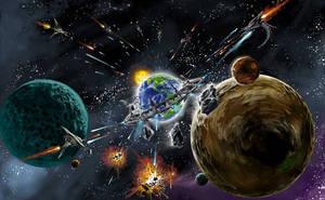 space invader by henryz