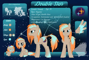 Double Star - Reference Sheet by GryphonOfDarkness