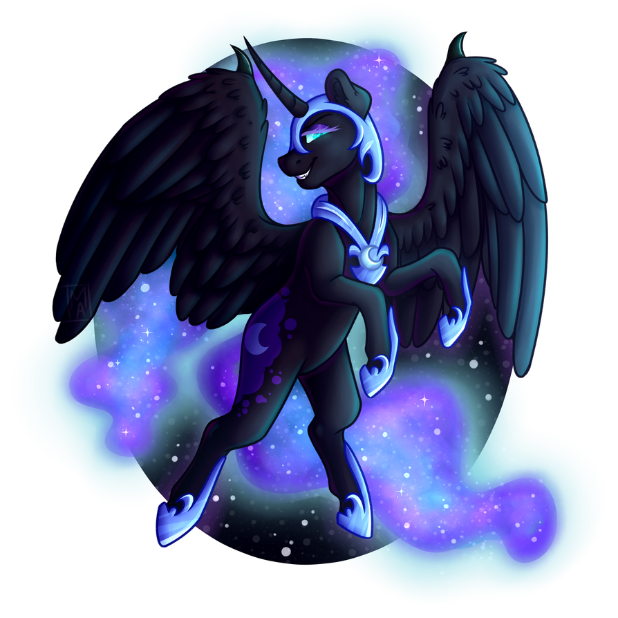 Nightmare Moon by Micky-Ann