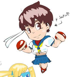 Mini Fighter #Sakura