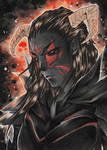 ACEO . Devils Prince