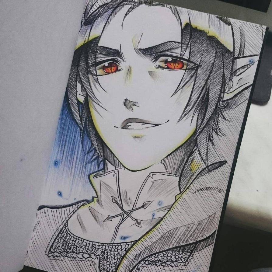 Dark Link Doodle  by naachi
