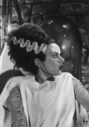 Bride of Frankenstein by Corwin-Cross