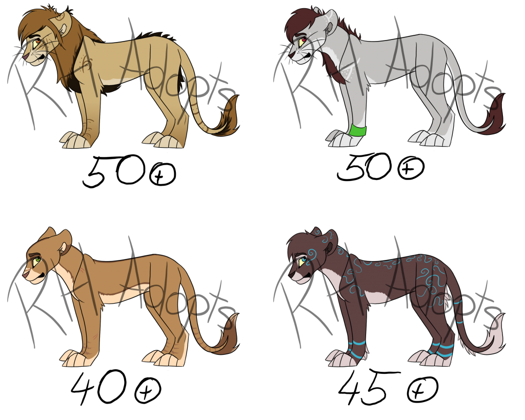 Lion Adopts -OPEN-