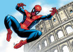 spidey in rome
