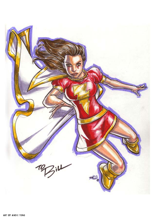 mary marvel MARKER MADNESS by deemonproductions