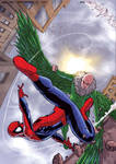 SPIDEY VS VULTURE COVER